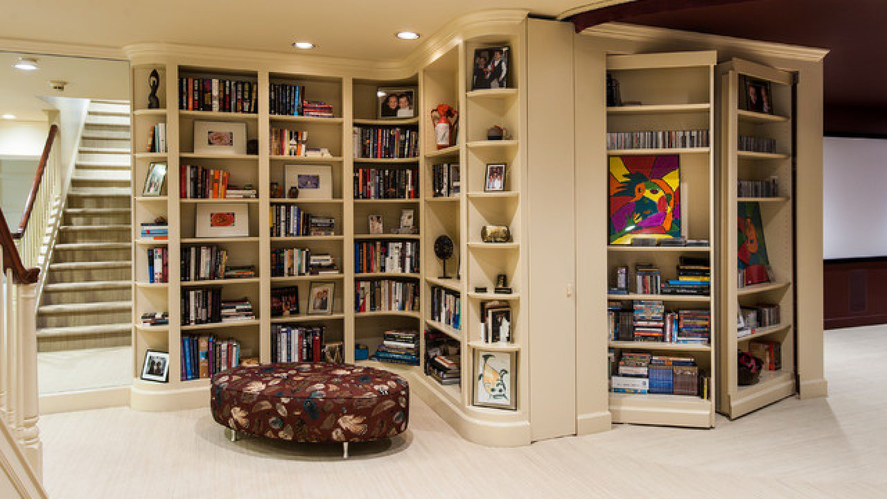 17 Creative Built In Bookcase Design Ideas