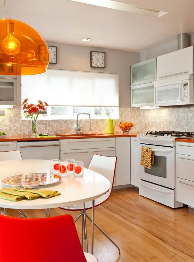 16 Charming Mid-Century Kitchen Designs That Will Take You ... on Modern:gijub4Bif1S= Kitchen Remodel  id=59374