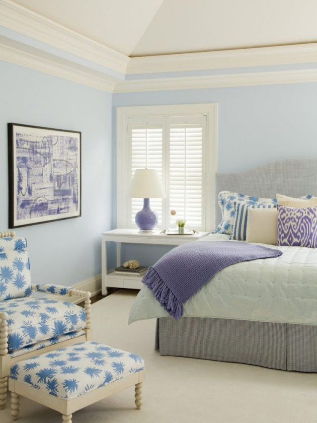 21 Pastel Blue Bedroom Design Ideas