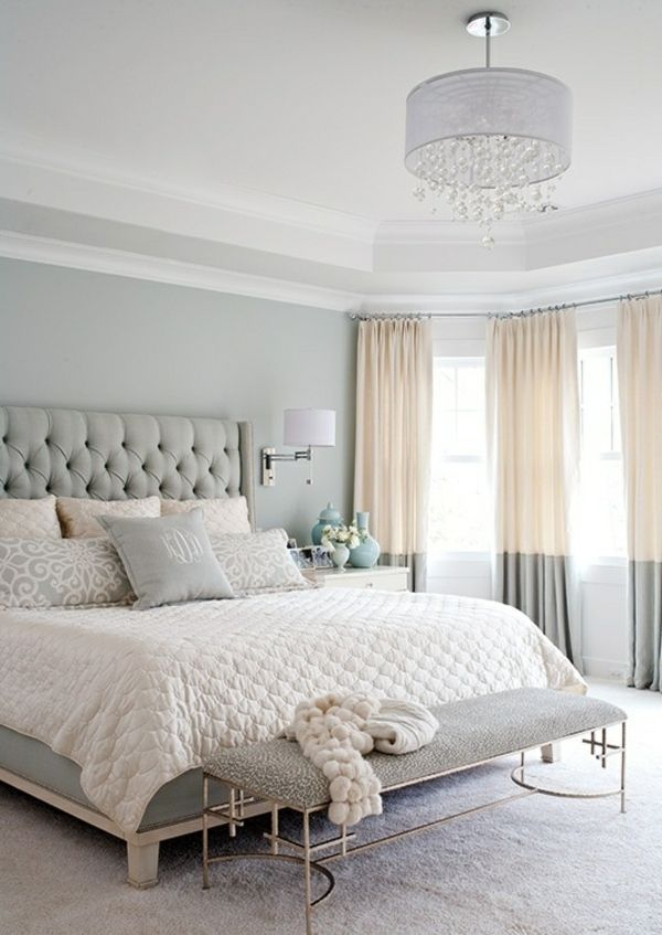 For example, you can for a wooden bed frame, a chair with a wooden base and a wooden dresser or nightstand. 21 Pastel Blue Bedroom Design Ideas
