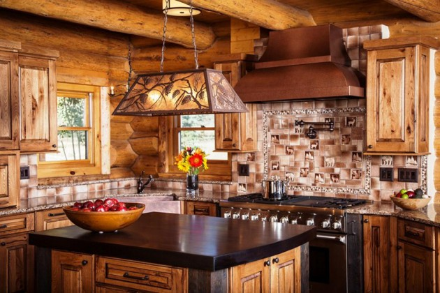 15 Charming Modern Rustic Kitchen Design Ideas on Rustic:rkh3E0Gkuju= Farmhouse Kitchen Ideas  id=98590
