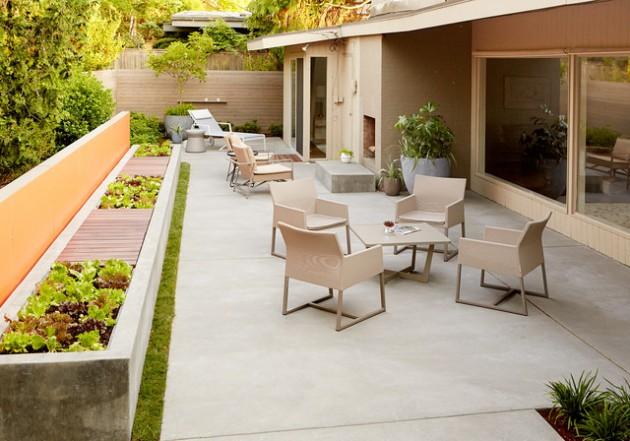 16 Sensational Mid-Century Patio Designs To Improve Your ... on Mid Century Patio Design  id=79701