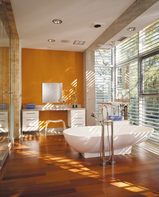 18 Excellent Industrial Bathroom Designs With Great ... on Great Bathroom Ideas  id=89125