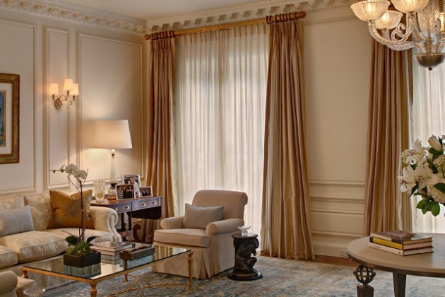 18 Adorable Curtains Ideas For Your Living Room on Living Room Curtains Ideas  id=52535