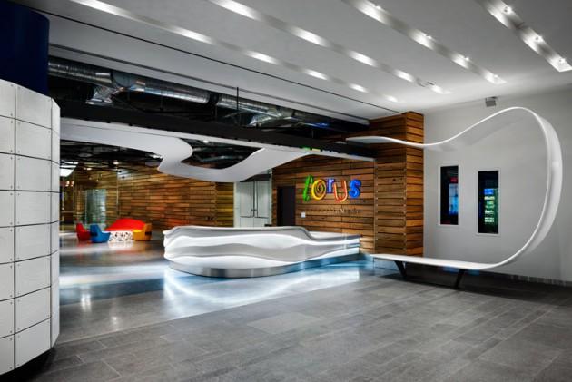 Great Office Interiors