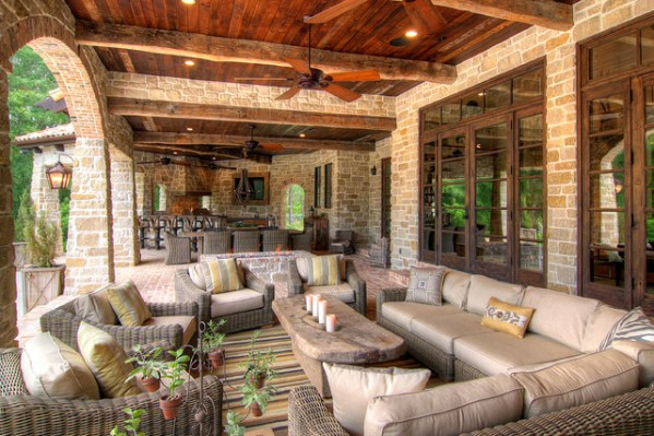 outdoor living space ideas for patios 18 Charming Mediterranean Patio Designs To Make Your