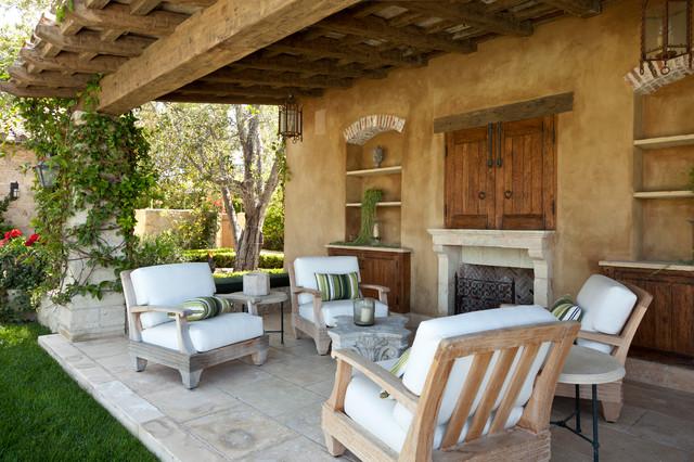 18 Charming Mediterranean Patio Designs To Make Your ... on Small Mediterranean Patio Ideas id=84623