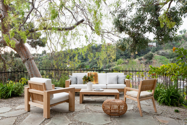 18 Charming Mediterranean Patio Designs To Make Your ... on Small Mediterranean Patio Ideas id=23754
