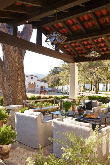 18 Charming Mediterranean Patio Designs To Make Your ... on Small Mediterranean Patio Ideas id=93786