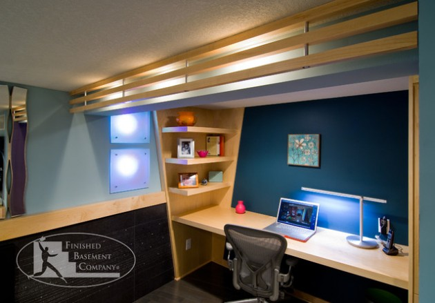 Turn Your Unused Basement Into Productive Home Office