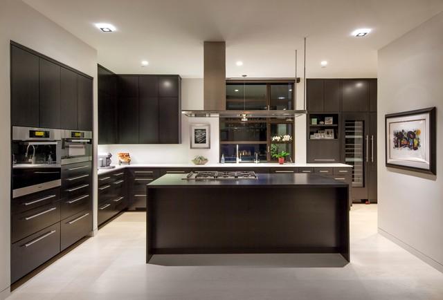 19 Impressive Contemporary Kitchen Designs That Will Blow
