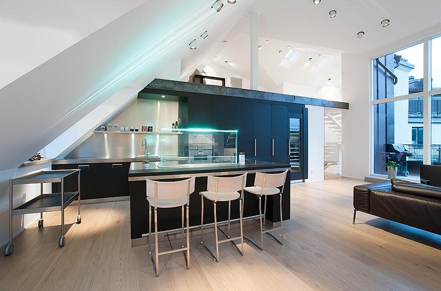 16 functional attic kitchen design ideas on beautiful kitchen pictures ideas houzz id=25956