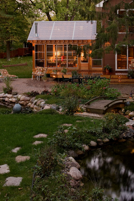 Backyard Pond Bridge