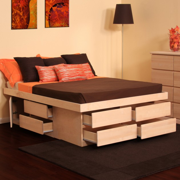 18 Space Saving Bed With Storage Design Ideas For Small Spaces