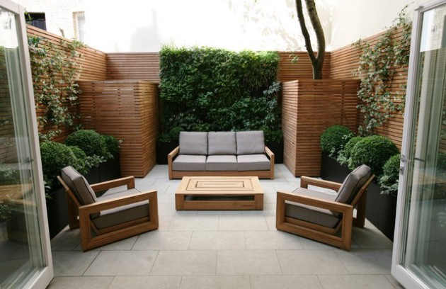 20 Incredible Contemporary Patio Designs That Will Bring ... on Modern Small Patio Ideas id=77638