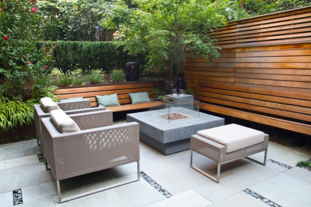 20 Incredible Contemporary Patio Designs That Will Bring ... on Best Backyard Patio Designs id=63471