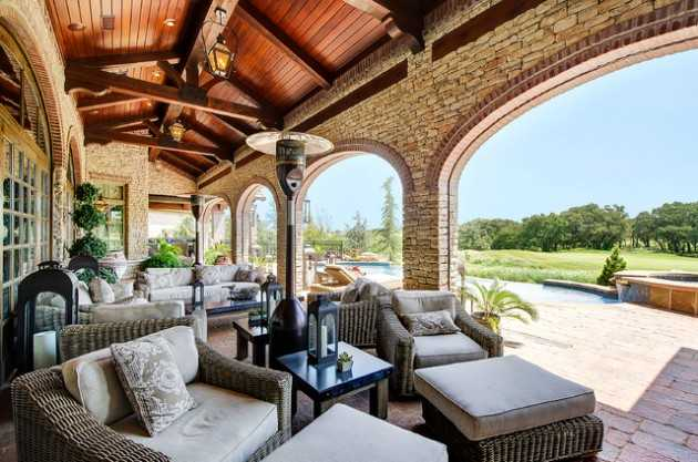 Porch Front Mediterranean