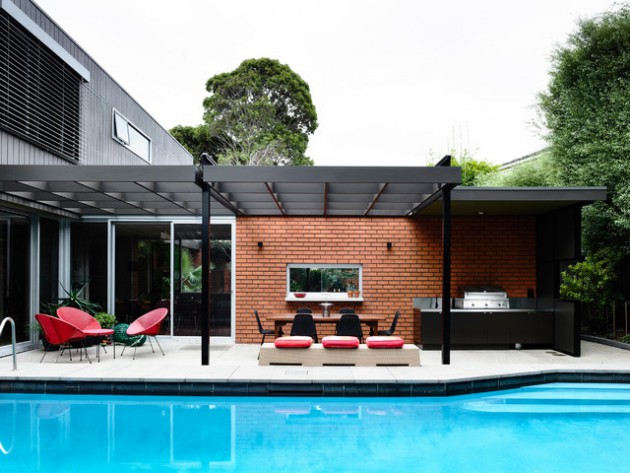 15 Stunning Mid-Century Modern Patio Designs To Make Your ... on Mid Century Modern Patio Ideas id=87021