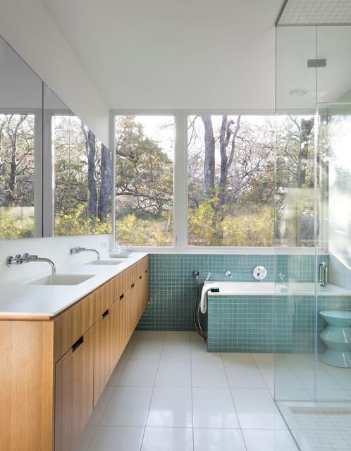 16 Beautiful Mid-Century Modern Bathroom Designs That Are ...