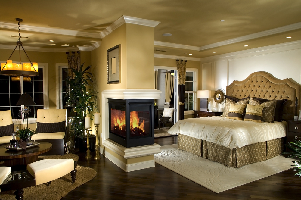 15 Magnificent Master Bedrooms With Fireplace on Best Master Bedroom  id=22419