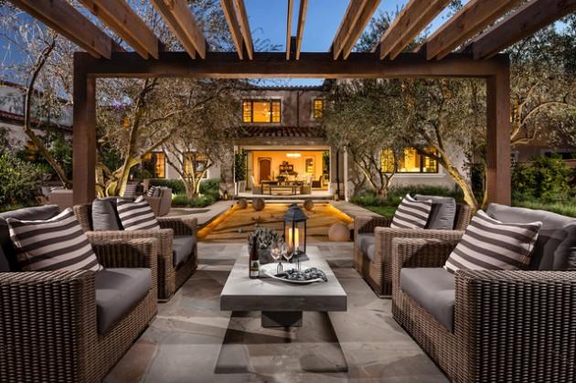 16 Bespoke Mediterranean Patio Designs For Your Backyard on Terraced House Backyard Ideas id=94792