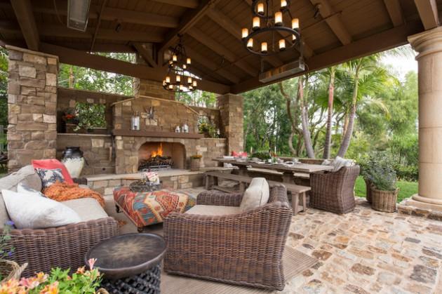 16 Bespoke Mediterranean Patio Designs For Your Backyard on Small Mediterranean Patio Ideas id=59843