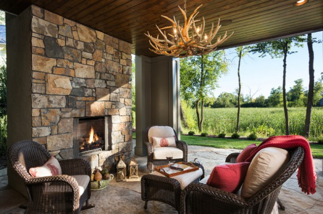 16 Wicked Rustic Patio Ideas For A Lovely Day Outside
