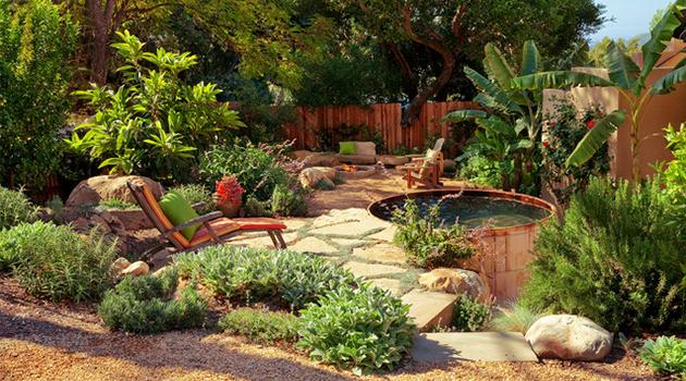 17 Wonderful Rustic Landscape Ideas To Turn Your Backyard ... on Rustic Backyard Ideas id=14023