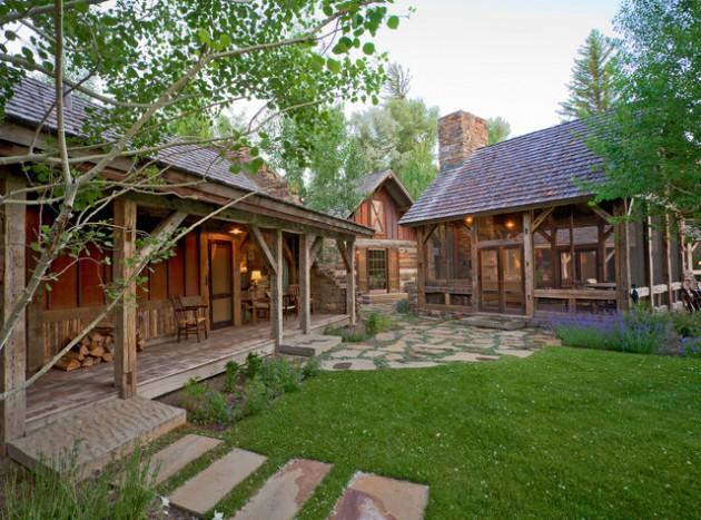 17 Wonderful Rustic Landscape Ideas To Turn Your Backyard ... on Rustic Backyard Ideas id=38331