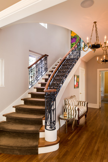 18 Impressive Traditional Staircase Designs Youll Fall For
