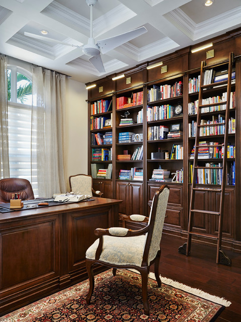 18 Sophisticated Traditional Home Office Designs To Work