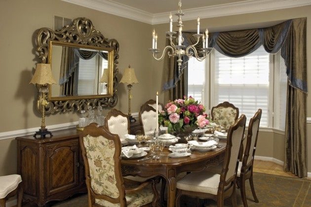 17 Remarkable Dining Room Curtains For Delightful Atmosphere on Dining Room Curtains Ideas  id=48346