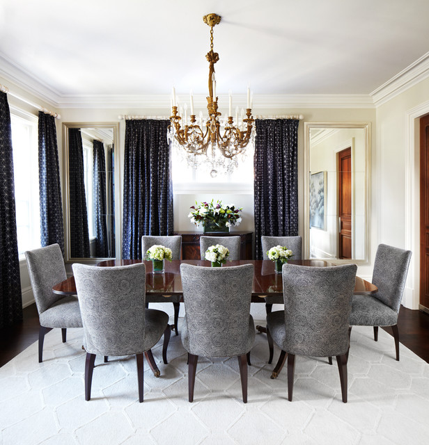 17 Remarkable Dining Room Curtains For Delightful Atmosphere on Dining Room Curtain Ideas  id=57283