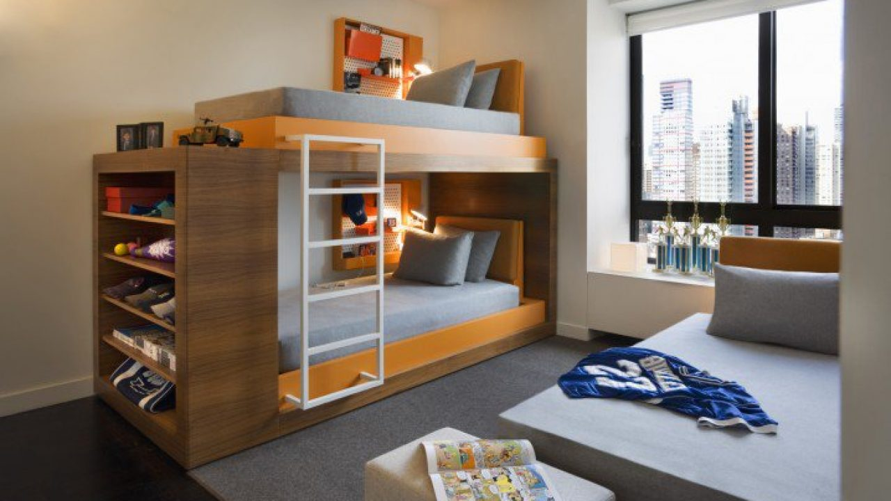 18 Irresistible Modern Bunk Bed Designs That Will Save Space