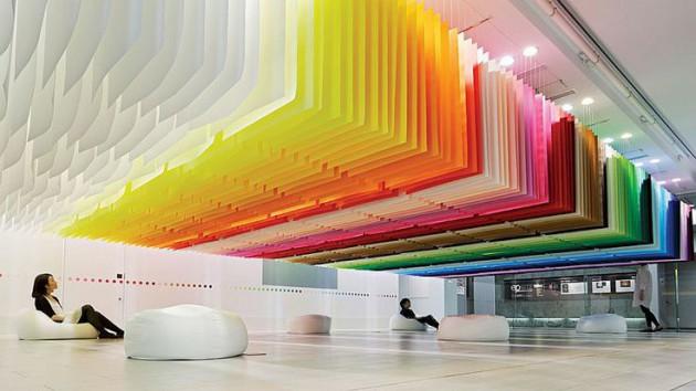 17 Brilliant Rainbow Interior Designs For All Those Who