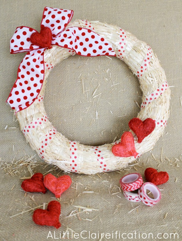 17 Fabulous DIY Valentines Day Wreath Designs To Adorn