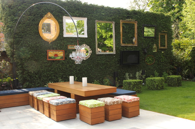 16 Snug Shabby Chic Patio Designs That Will Transform Your ... on Chic Patio Ideas id=28384