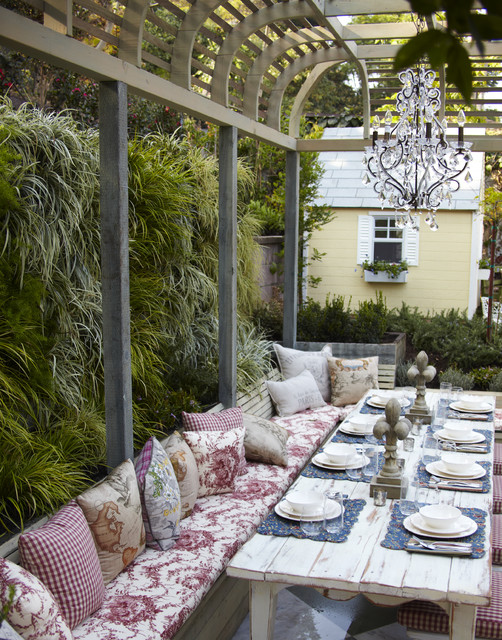 16 Snug Shabby Chic Patio Designs That Will Transform Your ... on Chic Patio Ideas id=23883
