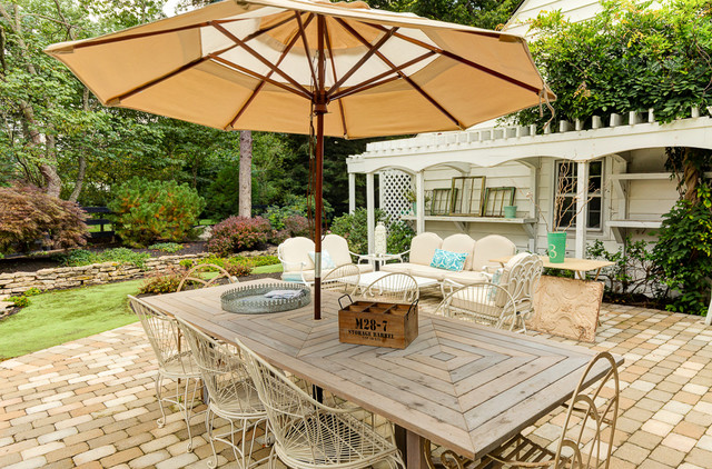 16 Snug Shabby Chic Patio Designs That Will Transform Your ... on Chic Patio Ideas id=75045