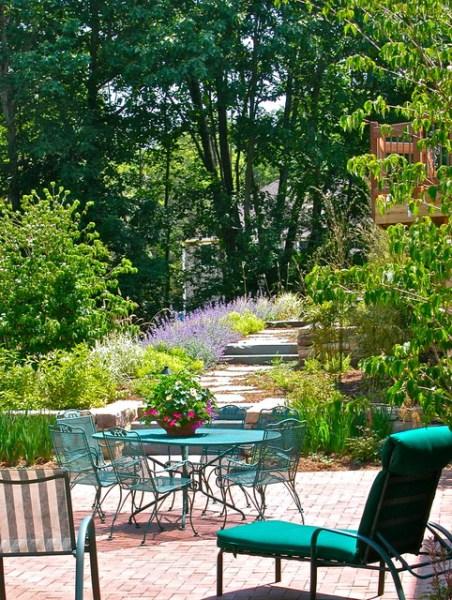 backyard design outdoor patio ideas 16 Snug Shabby Chic Patio Designs That Will Transform Your