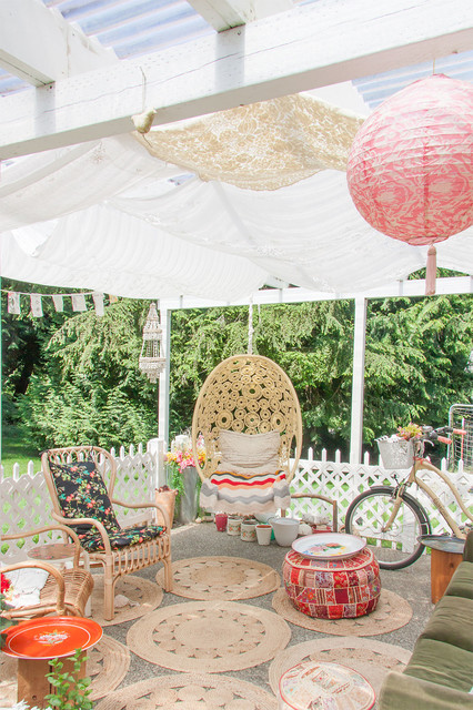 16 Snug Shabby Chic Patio Designs That Will Transform Your ... on Chic Patio Ideas id=91797