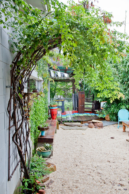 17 Lively Shabby Chic Garden Designs That Will Relax And ... on Chic Patio Ideas id=68486