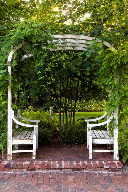 17 Lively Shabby Chic Garden Designs That Will Relax And ... on Chic Patio Ideas id=49072