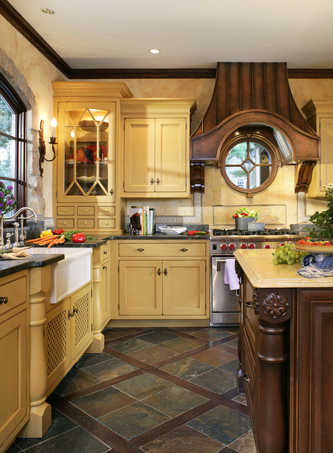 17 Adorable Kitchen Designs In French Country Style on Rustic:fkvt0Ptafus= Farmhouse Kitchen Ideas  id=34736
