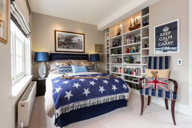 16 Simple & Cute Teen Room Designs For Boys on Teenager Simple Small Bedroom Design  id=59534