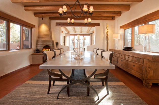 15 Passionate Southwestern Dining Room Designs Full Of ... on Small:jdu_Ojl7Plw= Kitchen Remodel Ideas  id=38359