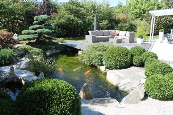 japanese inspired gardens 18 Restful Asian Inspired Landscape Designs That Will