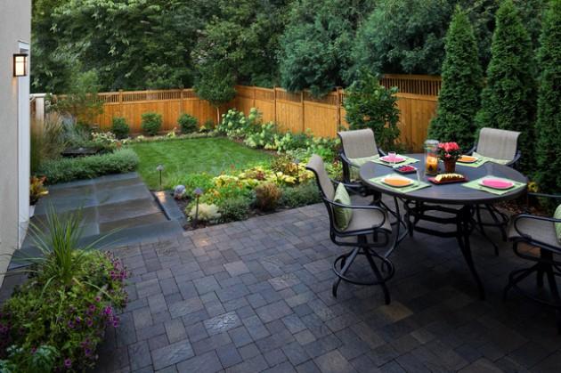 18 dashing small patio designs that