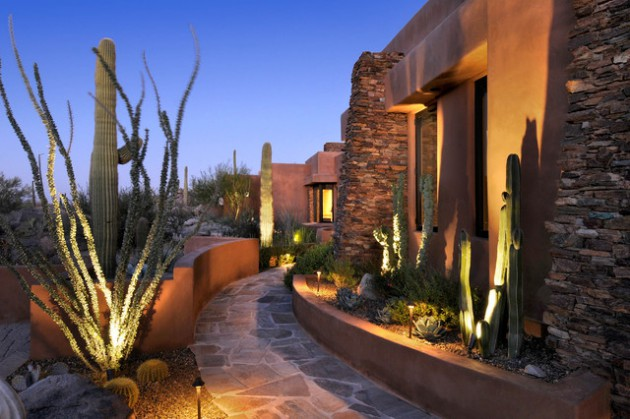 Solar Lights Front Porch