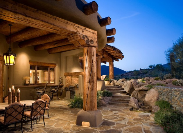 16 Cozy Southwestern Patio Designs For Outdoor Comfort on Backyard Porch Ideas id=97874